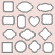 Set of frames — Stock Vector #29795459
