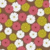 Flower pattern background — Stock Vector