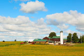Canadian Country Farm — Stock Photo