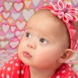 Baby Girl with Headband — Stock Photo #38089567
