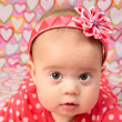 Baby Girl with Headband — Stock Photo #38089593