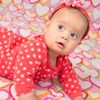 Baby Girl with Headband — Stock Photo #38089629