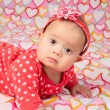 Baby Girl with Headband — Stock Photo #38089649