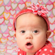 Baby Girl with Headband — Stock Photo #38089659