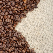 Brown roasted coffee beans. — Stock Photo #36738003