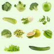 Food collection. All green. — Stock Photo #36738683
