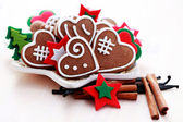 Christmas gingerbreads 2 — Stock Photo
