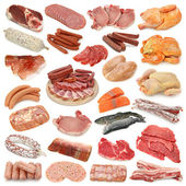Meat collection — Stock Photo