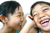 Two asian kids — Stock Photo