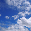 Stock Photo: Cloudly sky
