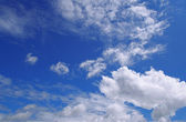 Cloudly sky — Stock Photo