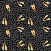 Vector seamless pattern with maple seeds — Stock Vector