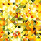 Sarı geometrik arka plan — Stok Vektör