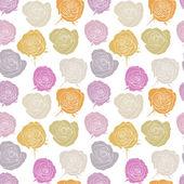 Patrón sin costuras vector con rosas — Vector de stock