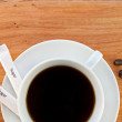 Cup of black coffee. — Stock Photo #29371673