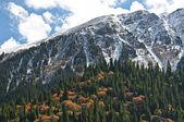 Tibet bergen landschap. — Stockfoto