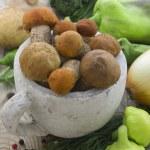 Set of fresh vegetables — Stock Photo #29668557