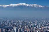 City of Santiago, capital of Chile. — Stock Photo