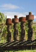 Moai — Stockfoto