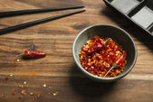 Concept of spicy cuisine. — Stock Photo