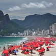 Nice day at Ipanema beach — Stock Photo