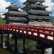 Medieval Matsumoto castle — Stock Photo