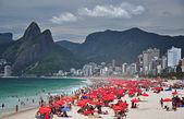 Nice day at Ipanema beach — Stockfoto