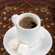 Turkish coffee. — Stock Photo