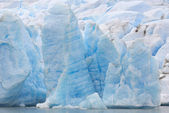 Amazing glacier — Stock Photo