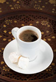 Cup of strong turkish coffee — Foto de Stock