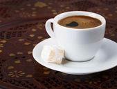 Kopp stark turkiskt kaffe — Stockfoto