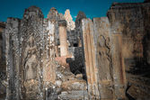 Bayon temple inside Angkor Thom complex Cambodia — Stock Photo