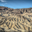 Death Valley zabriskie point — Stock Photo