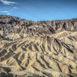 Death Valley zabriskie point — Stock Photo