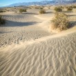 Death Valley natural sand dunes — Stock Photo
