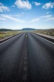 Highway Death Valley nevada — Stock Photo
