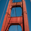 Pillar Golden Gate Bridge — Stock Photo