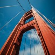San Francisco Golden Gate Bridge Pillar — Stock Photo