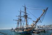 圣地亚哥帆船 — 图库照片