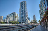 San Diego central station — Stock Photo