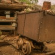 Stock Photo: Jerome Arizona Ghost Town mine car