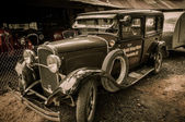 Jerome Arizona mining car — Stock Photo