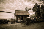 Jerome Arizona Ghost Town windmill — Stock Photo