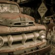 Car Jerome ArizonGhost Town — Stockfoto #36671523