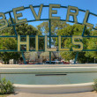 Beverly Hills sign — Stock Photo #36868125