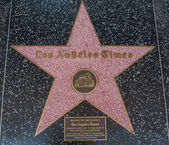 Los Angeles times Hollywood Star — Stockfoto
