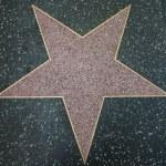 Empty Hollywood Star — Stock Photo