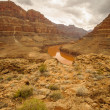 Stock Photo: Colorado river Grand Canyon