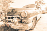 Cuba car vintage look — Stock Photo