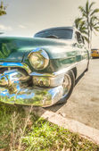 HAVANA, CUBA, An old American car in Havana — Stock Photo
